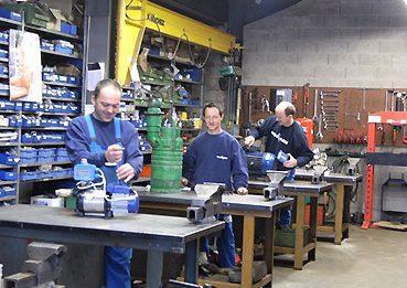 Réparation de pompe de marques Grundfos KSB ou Flygt
