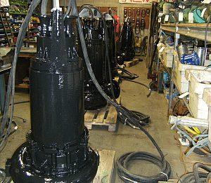 Atelier SAV de pompe de marques Grundfos KSB ou Flygt